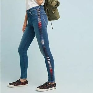 ANTHROPOLOGIE Levis 721 Made & Crafted High Rise
